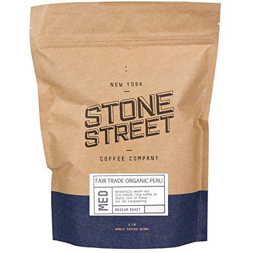 100% FAIR TRADE ORGANIC PERU | Whole Bean Coffee | 1 Lb Bag | Medium Full Body Roast | Single Origin Premium Quality