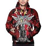 shanximengyama Babymetal Hoodie Men 3D Graphic Printed Long Sleeve Hoodies Sweater Pullover Sweatshirt