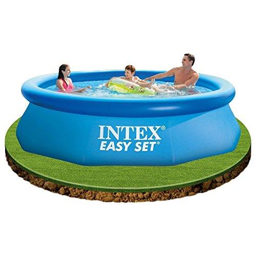 Intex Easy - Piscina hinchable para exterior, 305 x 76 cm, set 28122 x 01517
