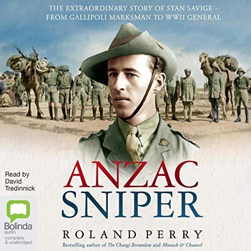 Anzac Sniper cover art