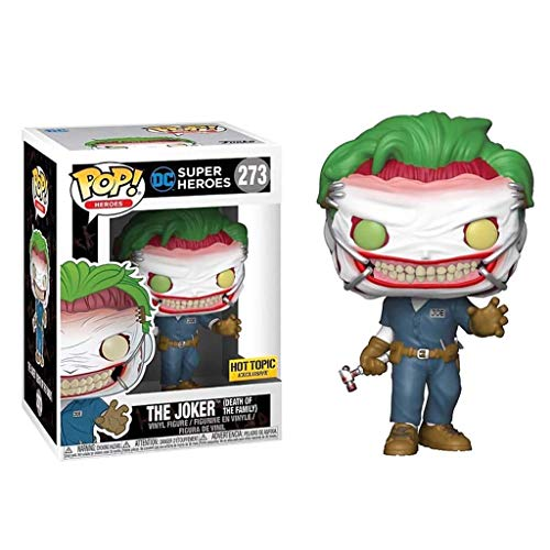 LTY Funko Pop: DC Heroes - Joker (Death of The Family) Collectible Vinyl Figure Chibi