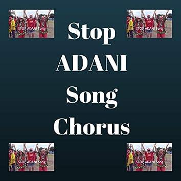 Stop Adani Song Chorus