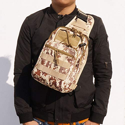 Oxford Cloth Tactical Crossbody schoudertassen voor mannen Chest Pack Messenger Bag