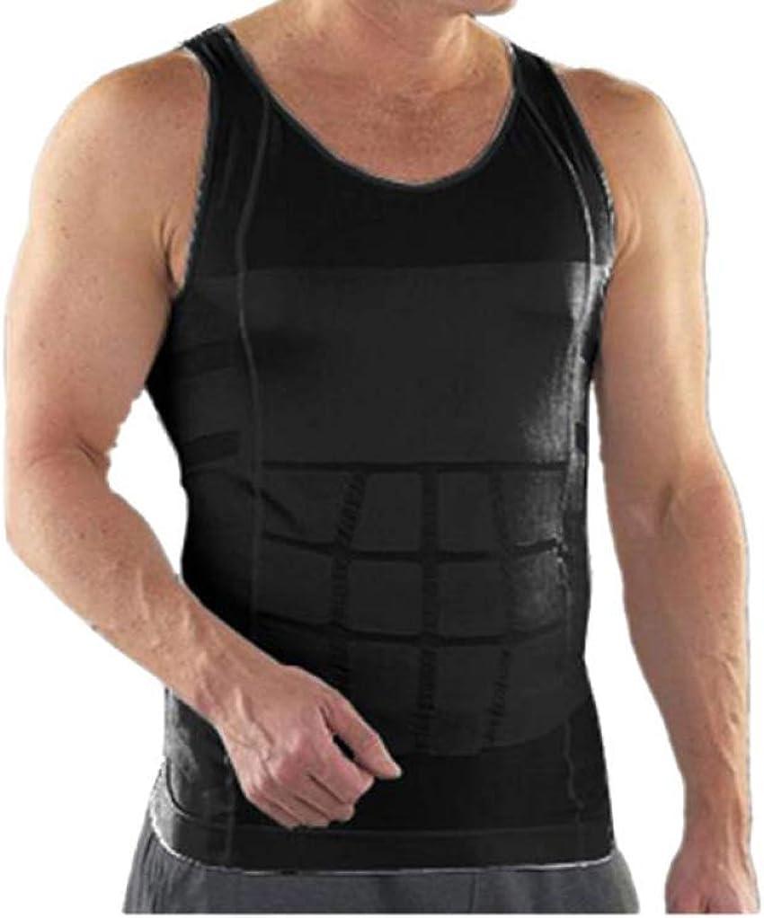 GODIWAN Men Slim Body Shaper Vest Waist Corset Underwear Cheap mail 2021 order shopping