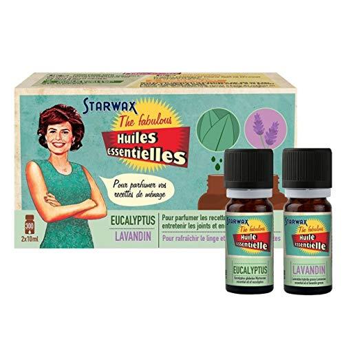Starwax - Huiles essentielles lavandin 10 ml et eucalyptus 10 ml the fabulous