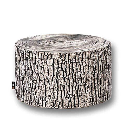 MeroWings Baumstumpf Hocker Ash