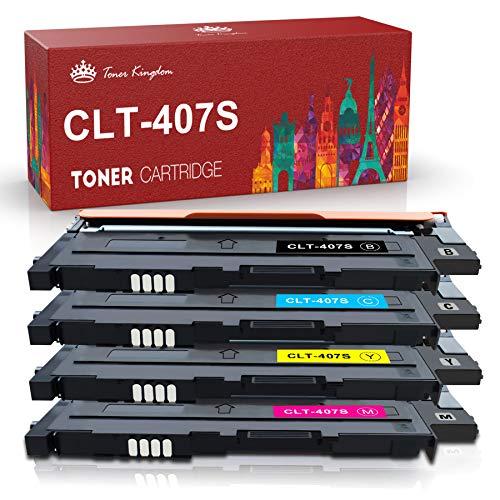 Toner Kingdom kompatibel Samsung CLT-K4072S CLT-C4072S CLT-M4072S CLT-Y4072S Tonerpatronen für Samsung CLP-320 CLP-320N CLP-320W CLP-320N CLP-325 CLP-325N CLP-325W CLX-3180 CLX-3180FN CLX-3180FW CLX-3185 CLX-3185F CLX-3185FN CLP-3185FW CLX-3185N CLX-3185W Drucker (4 Pack )