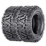 VANACC ATV/UTV Tires 27x11x14 Rear Mud Trail Tire 27x11-14 27 inch 6 Ply Set of 2