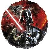 NET TOYS Globo de Helio Star Wars - 43 cm   Globo de Folio Darth Vader   Balón Hinchable Ciencia Ficción   Fiesta Temática Universo