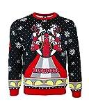 Official Marvel Deadpool Einhorn Weihnachtspullover
