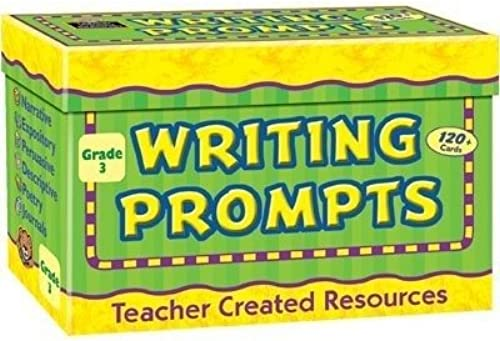 TEACHER CREATED RESOURCES Writing Prompts Größe 3 by Teacher Created Resources