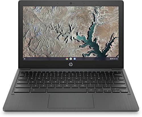 HP Chromebook MT8183 – (4 GB/64 GB EMMC Storage/Chrome OS) 11a-na0004MU Chromebook (11.6 inch, Ash Grey, 1.07 Kg)