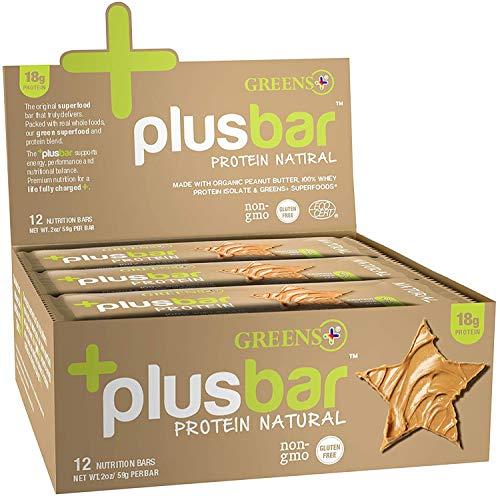 Greens+ Plusbar | Natural Protein Bars