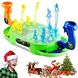 Toy'n Marble Rush and Soldier Bounce, Fashion Creative Party Game Board Funny Indoor Game Toy for Kids