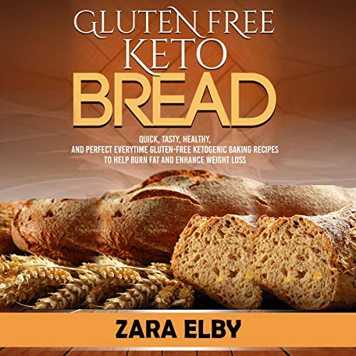 Gluten Free Keto Bread audiobook cover art