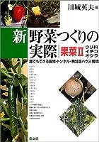 新野菜つくりの実際―誰でもできる露地・トンネル・無加温ハウス栽培 (果菜2)