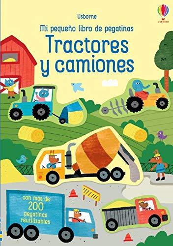 tractores y camiones (Mi pequeño libro de pegatinas)