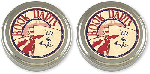 Book Darts 125 Count Tin Line ブランド買うならブランドオフ 訳あり品送料無料 Markers-Tw Bronze Bookmarks -