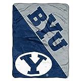 The Northwest Company BYU Cougars 'Halftone' Micro Raschel Throw Blanket, 46' x 60' , Blue