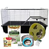 Exotic Nutrition Hedgehog Home & Starter Package - Includes Durable...