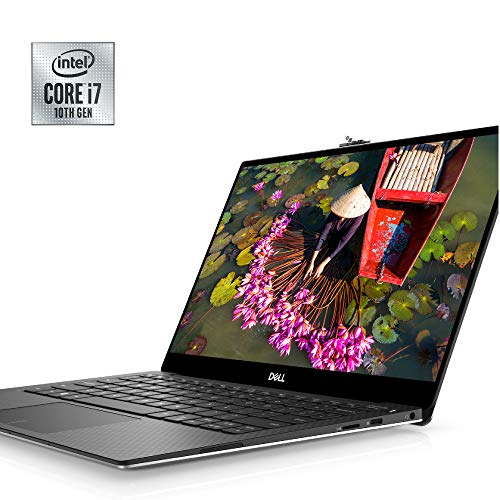Dell XPS 13 7390 13.3 inch 4K UHD InfinityEdge Touchscreen Laptop (Silver) 10th Gen Intel Core i7-10710U, 16GB RAM, 1TB SSD, Windows 10 Home Advance (XPS7390-7681SLV-PUS)
