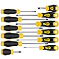 12 PCS Screwdriver Sets with Supper Magnetizer, OPOW Magnetic Screwdriver Set with Case Includes Flat/Phillips/Torx Precision Screwdrivers for Repairing Home Improvement Craft from OPOW