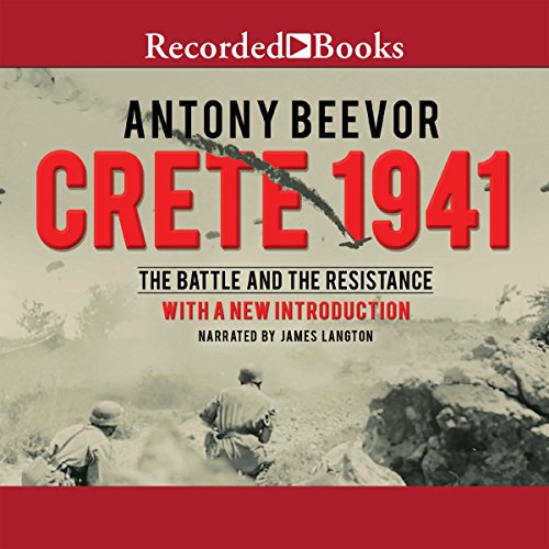 Crete 1941 audiobook cover art