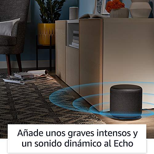 Echo Sub, un potente subwoofer diseñado para los dispositivos Echo