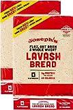 Joseph's Lavash Bread Flax Oat Bran & Whole Wheat...