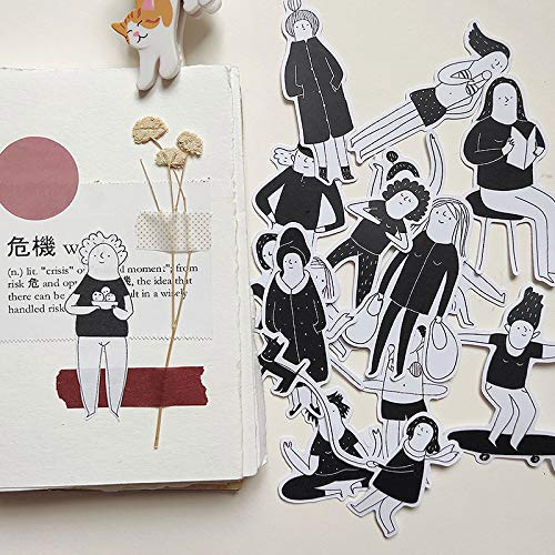 15pcs Living in new york illustration stickers/Scrapbooking Stickers/Decorative Sticker/DIY Craft Photo Albums