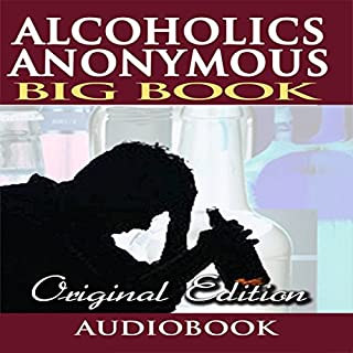 Alcoholics Anonymous - Big Book - Original Edition cover art