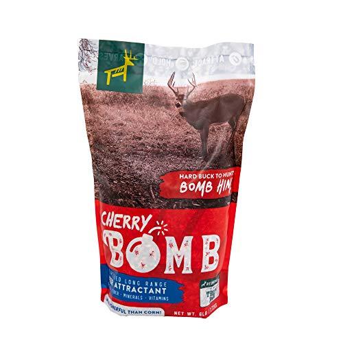 REDMOND Hunt - Fortified Long Range Deer Attractant/Supplement Feed (Cherry Bomb 6 LB)