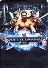 Wrestlemania 23 boitier métal limitée Édition Limitée