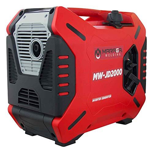 Maraga - Generador Silencioso de Gasolina Portátil 120V, 60hz - Confiable, Ahorrador, Silencioso y ligero.