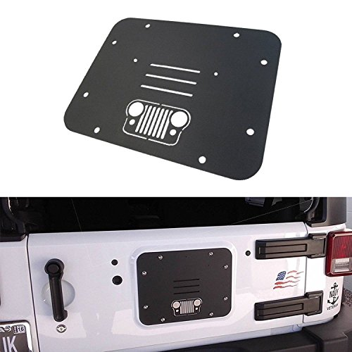 jeep tailgate vent plate - 1