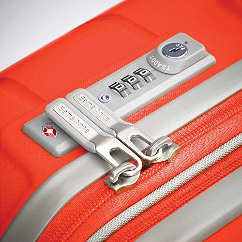 Samsonite Freeform Hardside Luggage, Tangerine, Checked-Large