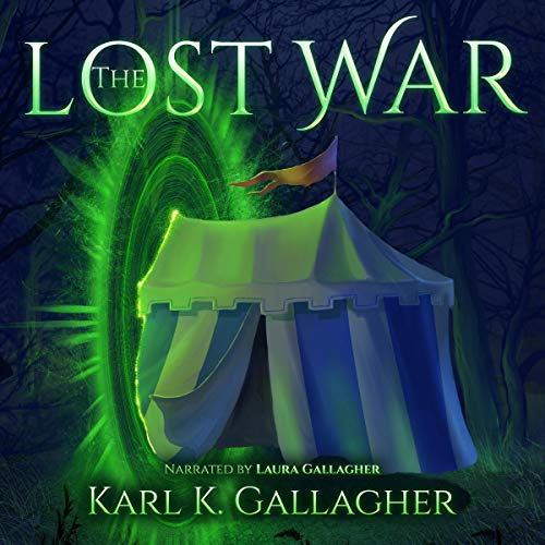 The Lost War audiobook cover art