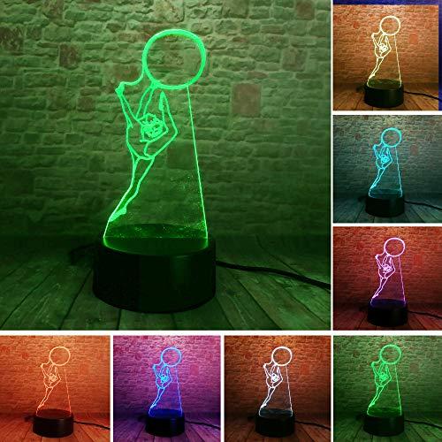 3D veilleuse sportive cool veilleuse LED USB lampe de table décoration cadeau de noël enfant jouet cadeau d'anniversaire