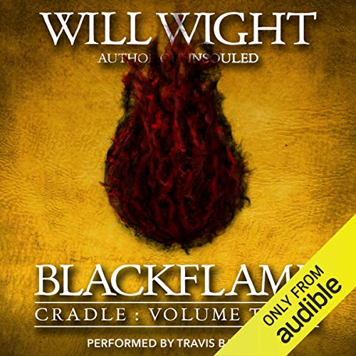 Blackflame audiobook cover art