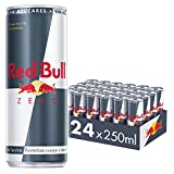 Red Bull Zero, Bebida energética - 24 de 250 ml. (Total 6000 ml.)