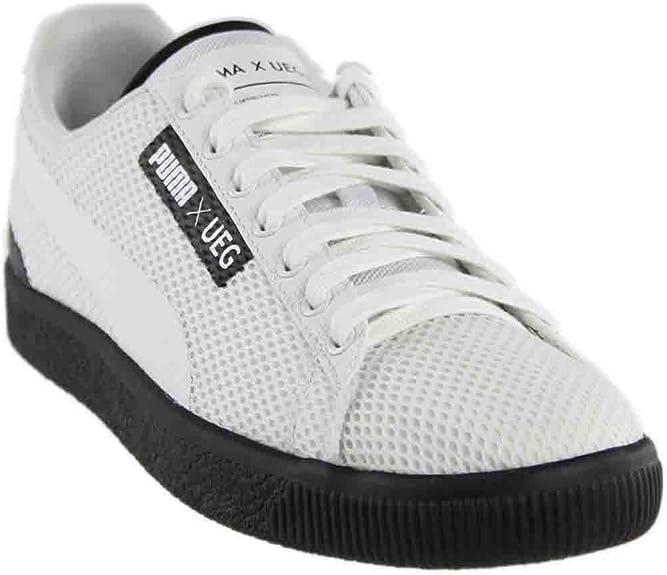 Court X Ueg Ankle-High Mesh Sneaker