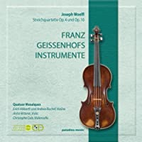 Woelfl: 3 String Quartets (2012-08-28)