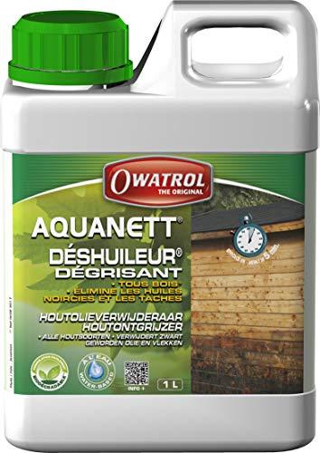 Owatrol Aquanett déshuileur/Grauschleier-Entferner gélifie alle Holz 1L