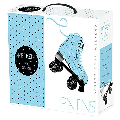 Patins Weekend Bel Fix Azul 38