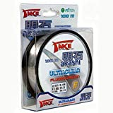 Lineaeffe Hilos de Pesca Take Akashi Ultraclear Fluorocarbon 100 m 100 m D. 0.300 mm Fluorocarbono Spinning Surfcasting Boloñesa