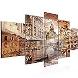 Bilder Italien Wandbild 200 x 100 cm Vlies - Leinwand Bild