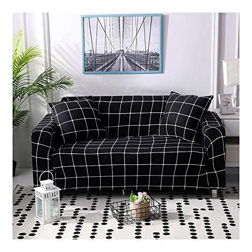 WAZMM Funda para sofá 1 2 3 4 plazas Funda Antideslizante Sofá Sofá Protector de sofá Estampado elástico, 235-300cm