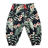 Allence Sommer Kinderhosen Junge Mädchen Pumphose Kinder Harem Hosen Casual elastischen gedruckten Hosen