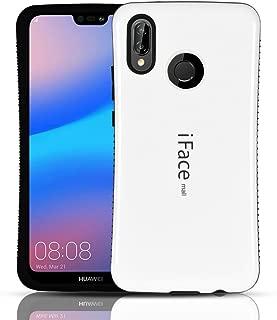 Huawei P20 lite ケース/ファーウェイ P20 lite カバー (iFacemallケース) 耐衝撃 ケース カバー 白(Minofox)