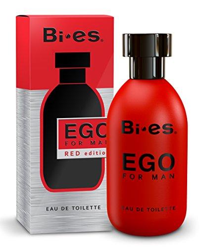 bi-es Ego rojo Eau De Toilette Spray para hombres 100ml